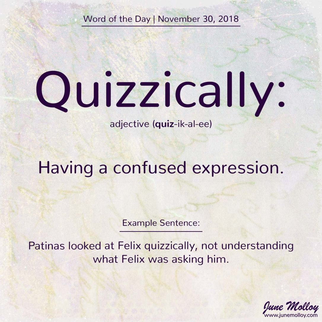Word of the Day | www.junemolloy.com