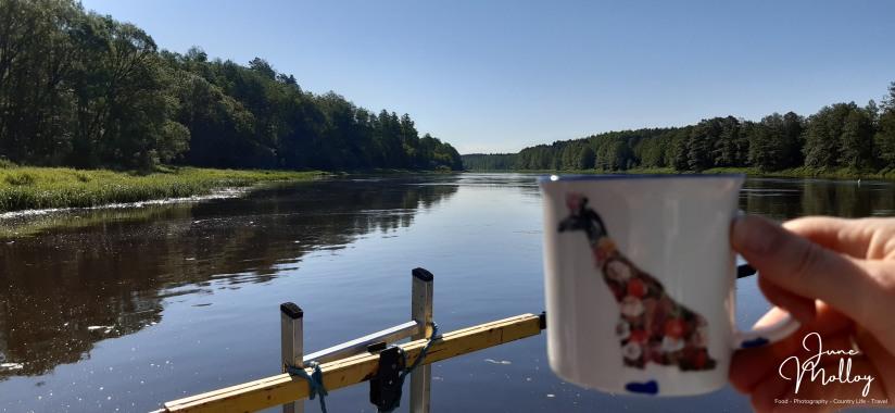 Morning coffee on the Nemo | www.junemolloy.com