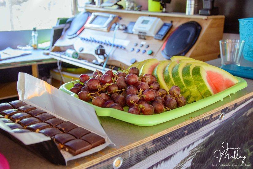 Snacks onboard the Nemo | www.junemolloy.com