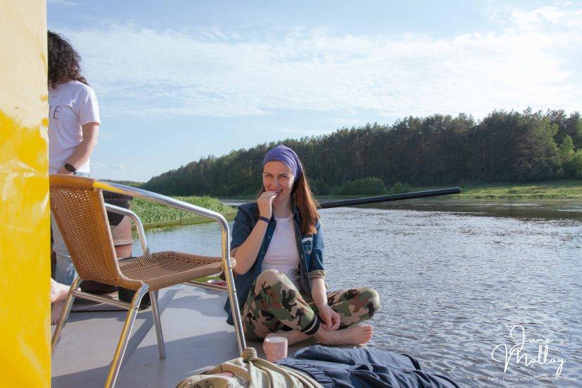 Tea & Biscuites on Deck | www.junemolloy.com