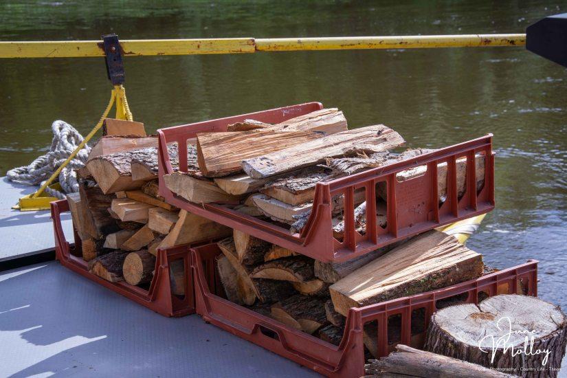 Wood pile | www.junemolloy.com